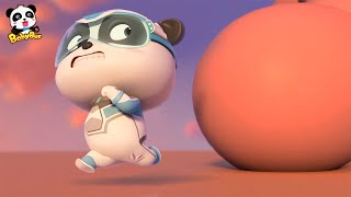 Run!Super Panda Kiki | Super Panda Rescue Team 4 | BabyBus Cartoon for Kids