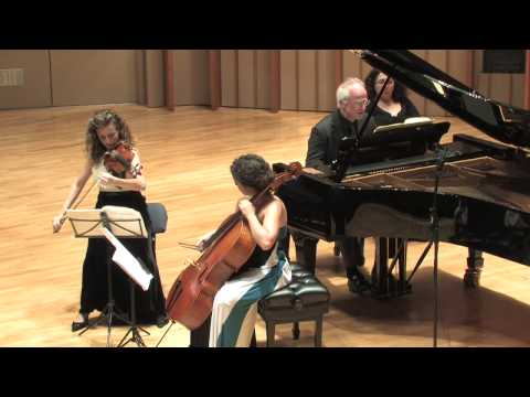 Camerata Pacifica — Brahms, Piano Trio in B Major, Opus 8, 4th movement