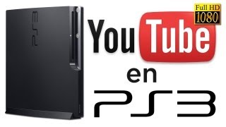 Como instalar YouTube en PS3