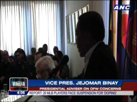 Binay: Taiwan's economy will collapse if OFWs leave