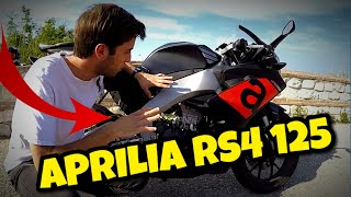 APRILIA RS4 125 - TEST RIDE