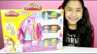 Tuesday Play-Doh Disney Princess Castle Belle Cinderella & Aurora|B2cutecupcakes