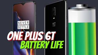 One Plus 6T Battery Life.. 1st. Official Test