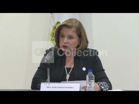 """MEXICO:ATTORNEY GENERAL PRESSER/DETENTIONS ON """"EL CHAPO"""" ESCAPE"""