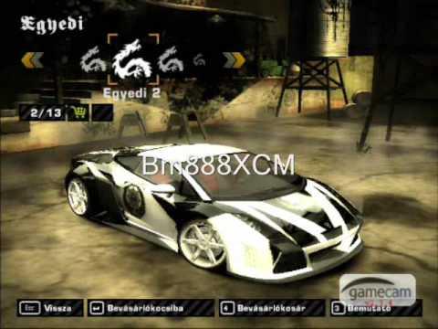 Nfs Most Wanted Lamborghini Gallardo Tuning Youtube