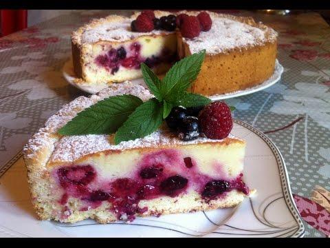 Заливной Пирог с Ягодами / Ягодный Пирог / Berry pie / Очень Простой и Вкусный Рецепт Пирога
