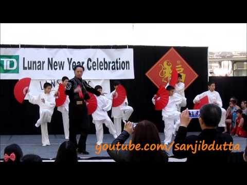 男兒當自強 (Nan'er Dang Zi Quiang) - Chinese New Year 2016, Richmond, BC, Canada
