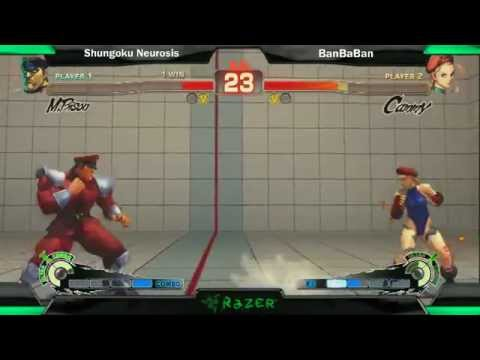 SS2K12 AE2012: Shungoku Neurosis (Bison) vs Banbaban (Cammy) - Day 2 (Finals Match)