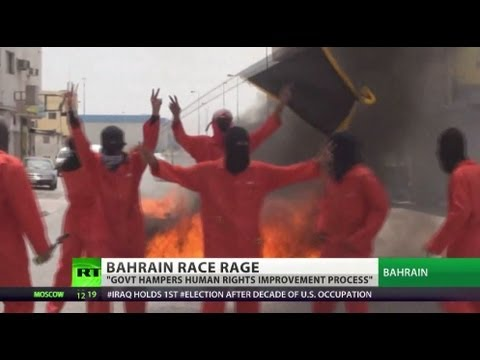 F1 Race Rage: Bahrain police use teargas in clashes with protesters