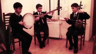 Azərbaycanın ilk uşaq muğam triosu - Arazbari