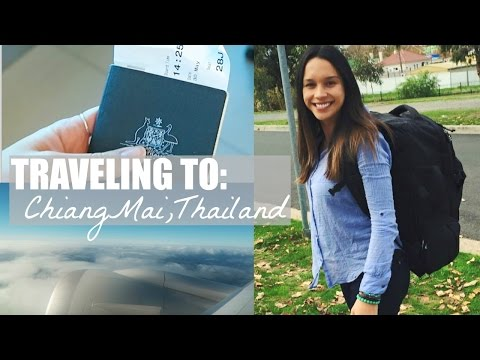 Melbourne to Chiang Mai | What I Ate Traveling | Thai Fruit Festival 2015