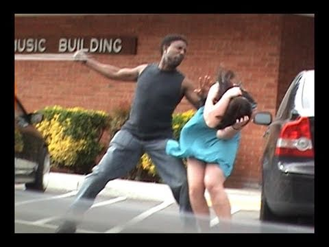 Stupid Guy Hits Girlfriend! video