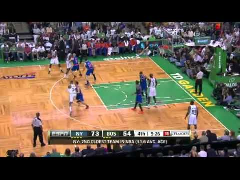 NBA CIRCLE  New York Knicks Vs Boston Celtics Game 3 Highlights 26 April 2013 NBA Playoffs 2013
