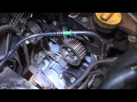 Oficina Mecânica - Troca da Correia Dentada da Renault Master 2.5 16v. dci120