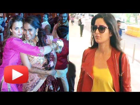 Katrina Kaif Reaches Hyderabad For Salman Khan's Sister Arpita Khan's Wedding | SEE PICS