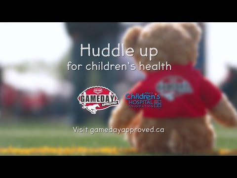 Huddle Up for Children's Health | Calgary Stampeders