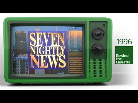Seven Network Nightly News Melbourne Opener - 28/01/1996