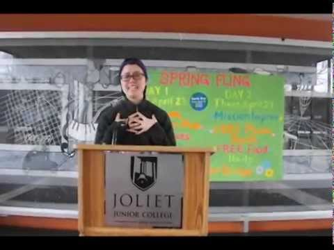 "JOLIET JUNIOR COLLEGE RAP - STEPHANIE ""SLY"" LY"