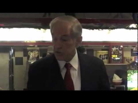 Ron Paul Furious About Indefinite Detention Act (NDAA)