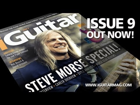 Steve Morse - iGuitar Magazine Issue 9 - Out Now! Free Guitar Lessons || Gear Reviews || Interviews