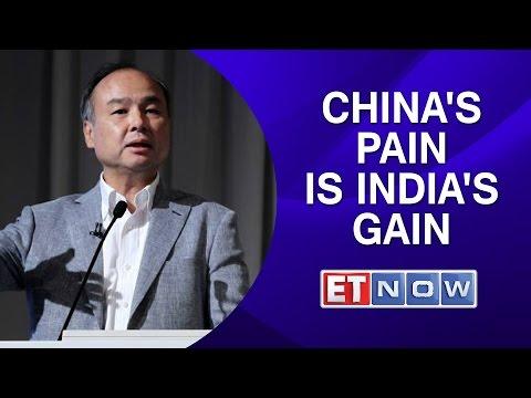 Masayoshi Son: China's pain is India's gain