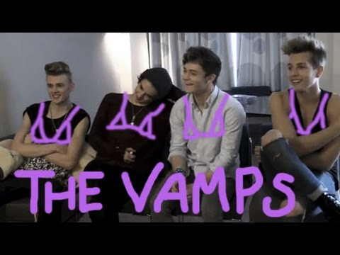The Vamps dish the dirt on Shawn Mendes: 'He has five nipples. They're like udders'
