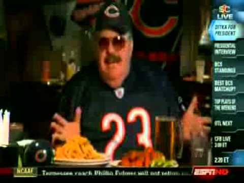 SNL DA SUPER FANS-  Ditka For President