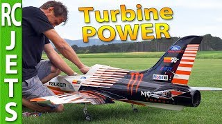 TURBINE powered RC JETS - I visited a friend to film his fleet