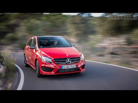 2015 Mercedes-Benz B-Class (facelift) - First Drive Review