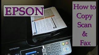Discover How To Fax, Copy & Scan On An Epson Printer - Simple & Easy
