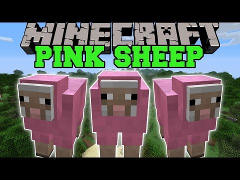 Minecraft: PINK SHEEP (MAJESTIC PINK SHEEP FOREST BIOME!) Showcase