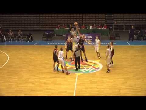 Топ моменти матчу Україна U-16 - Бельгія U-16   ЄвроБаскет2017