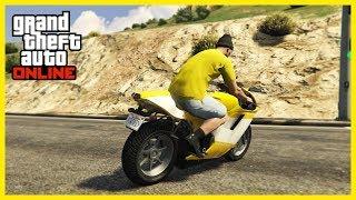 GTA 5 COOL Chimney Motorbike STUNT! 😱