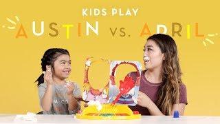 Austin vs. Mom (April) | Kids Play | HiHo Kids