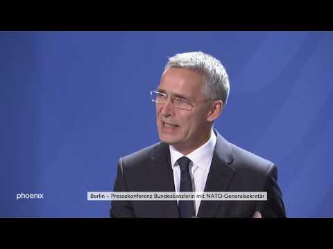 Bundeskanzlerin Angela Merkel NATO-GeneralsekretГr Jens Stoltenberg zu ihrem Treffen am 07.11.19