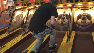 I GOT KICKED OUT OF THE ARCADE...