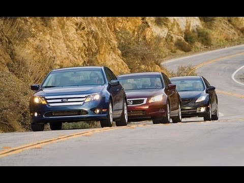 2010 Ford Fusion vs. Mazda 6, Honda Accord - CAR and DRIVER