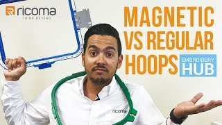 Embroidery Hub Ep. 03: Magnetic vs Regular Hoops | Embroidery Tutorial