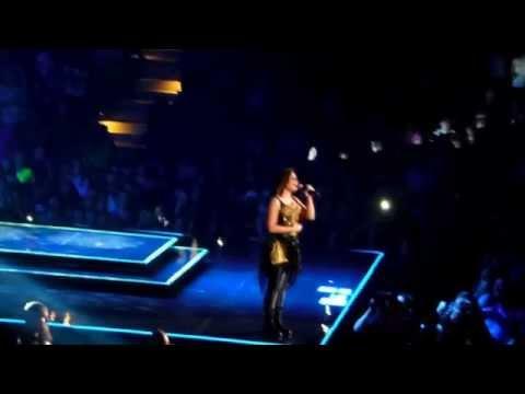 Demi Lovato - Skyscraper & Give Your Heart A Break- Demi World Tour - Baltimore video