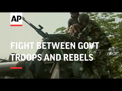 Fire fight between govt troops and rebels in troubled province