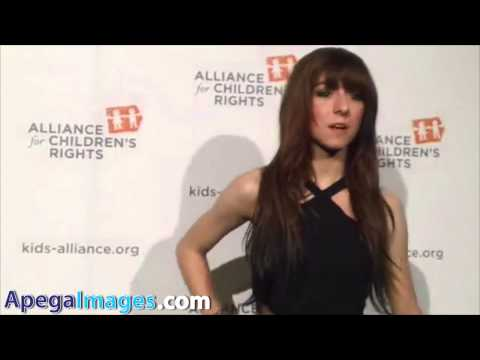 Christina Grimmie walks the carpet to support Alliance for Children's Rights Dinner
