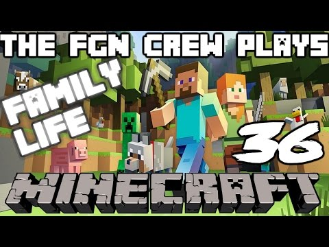 The FGN Crew Plays: Minecraft Family Life #36 - The Strange Horse (PC)
