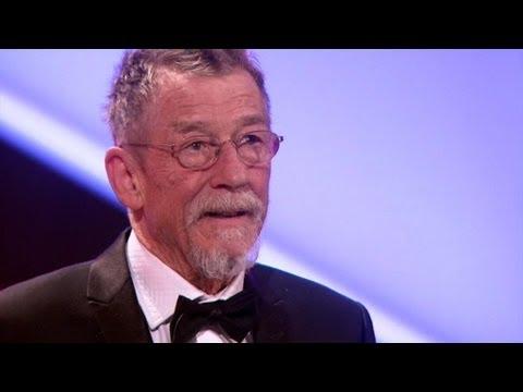 John Hurt's Acceptance Speech - The British Academy Film Awards 2012 - BBC One