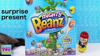 Mighty Beanz Surprise Present Blind Bag Toy Game Review | PSToyReviews