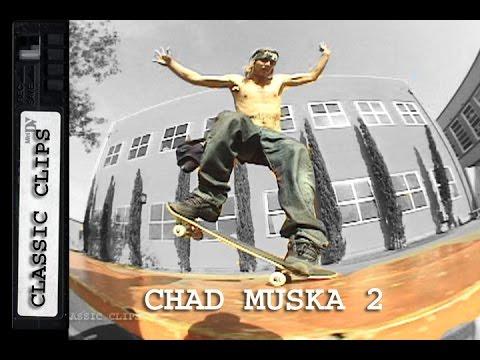 Chad Muska Skateboarding Classic Clip #255 Part 2