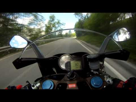 GoPro HD: Aprilia RS 125 - Awesome Ride
