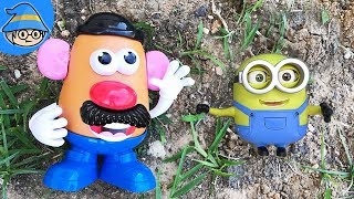 Toy Story Potato Man and Minions meet ~Learn With Mr Potato Head Toy.