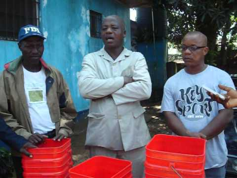 TGHS EBOLA Hospital donation in Liberia
