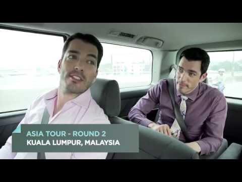 The Property Brothers in Kuala Lumpur - Malaysia | HGTV Asia