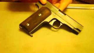 Llama 22 pistol field strip